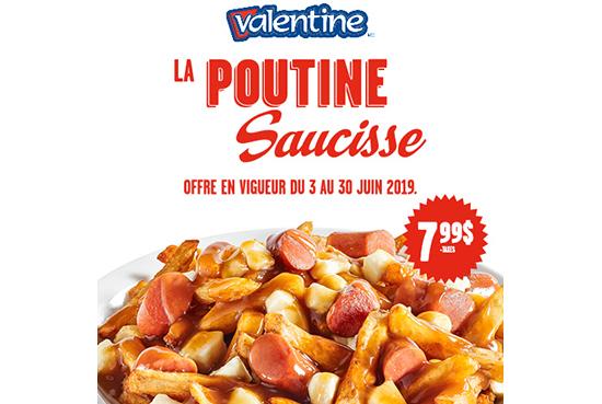 Promotion chez Valentine